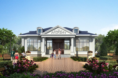 适合农村建的一层小别墅设计,网红爆款设计,四室二厅