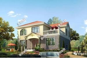 2款小户型农村别墅方案,主体造价仅需23万左右。