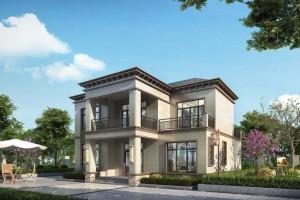 300平的二层别墅设计案例,整体设计朴实大气,精致实用。