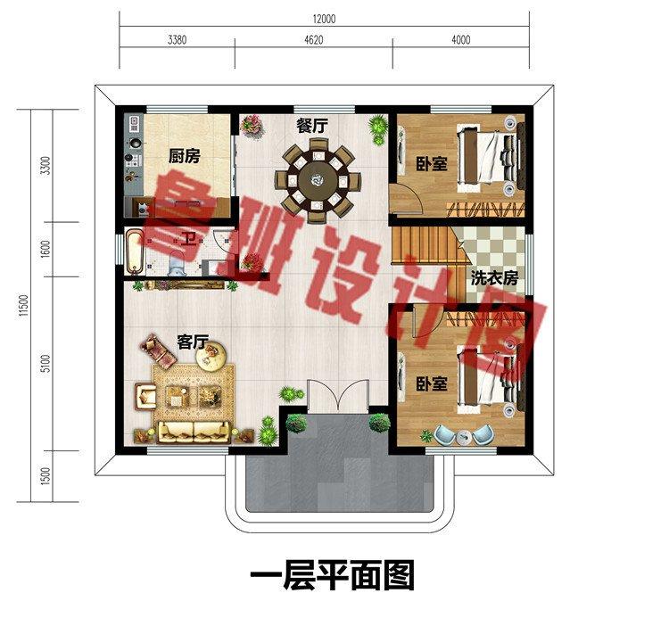 农村25万元二层小楼图