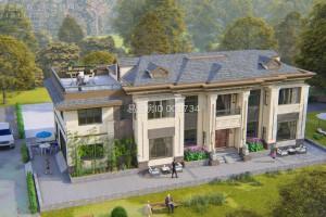 欧式2层别墅案例,这个户型火爆农村。