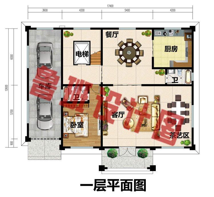 新款四层别墅房屋设计效果图