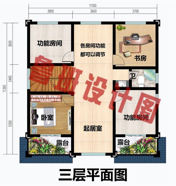 新款三层欧式复式别墅设计图