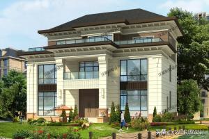 3层中式别墅设计效果图,高端大气上档次还不贵。