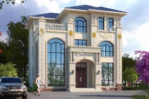 欧式自建别墅案例,全国各地建造的人都非常多。