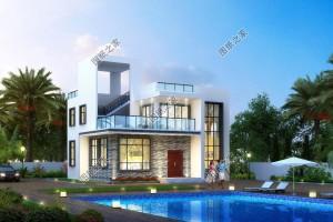 2020年新款别墅户型图纸,造价30万造型美观,价格实惠。