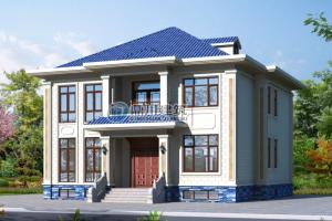 5款二层别墅设计图纸,美观实用接地气,家人长辈都喜欢。