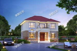 简约2层别墅设计图纸,这样的小家满满的温馨感。