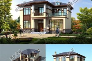 现代新中式别墅效果图,喜欢就收藏吧。