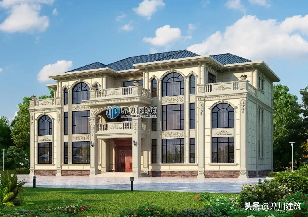 6套农村自建别墅案例,缔造雍容华贵质感。