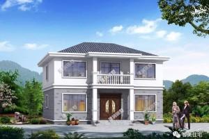 外观风格相似的别墅户型图纸,给人不同的感觉。