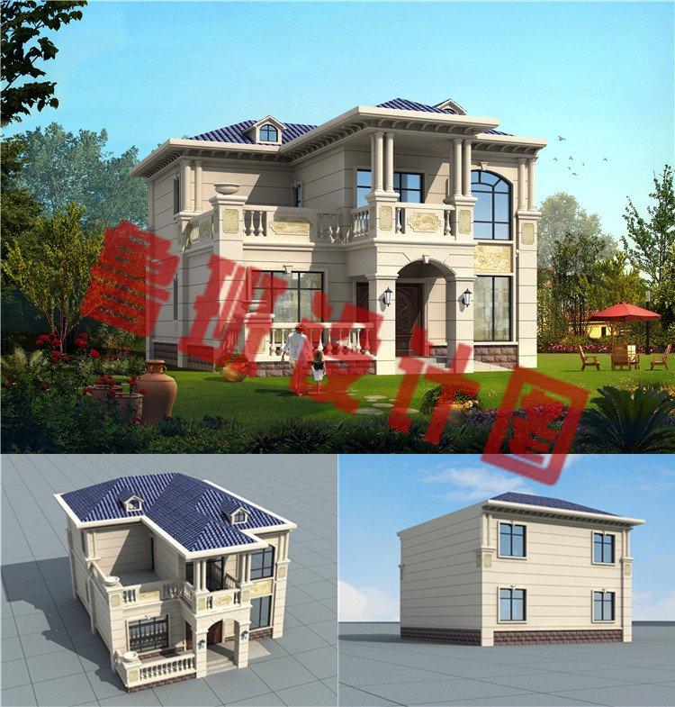 二层欧式别墅设计图效果图