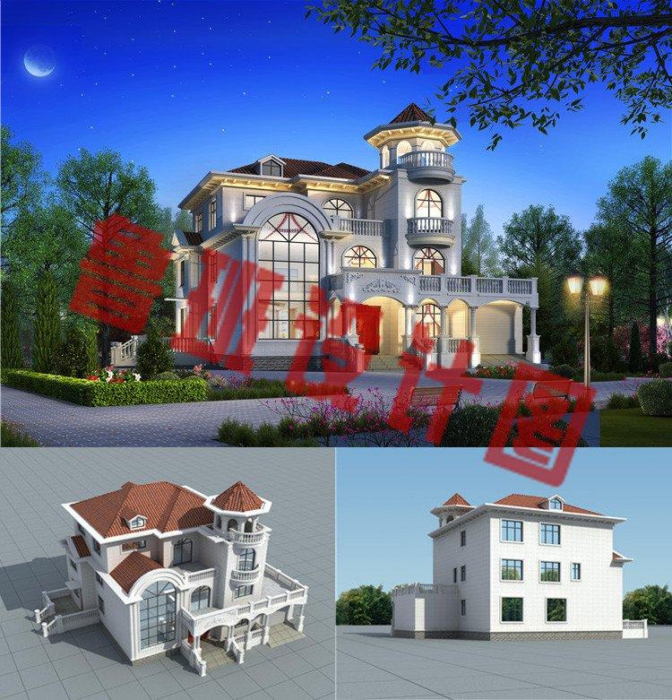 巴洛克别墅设计效果图