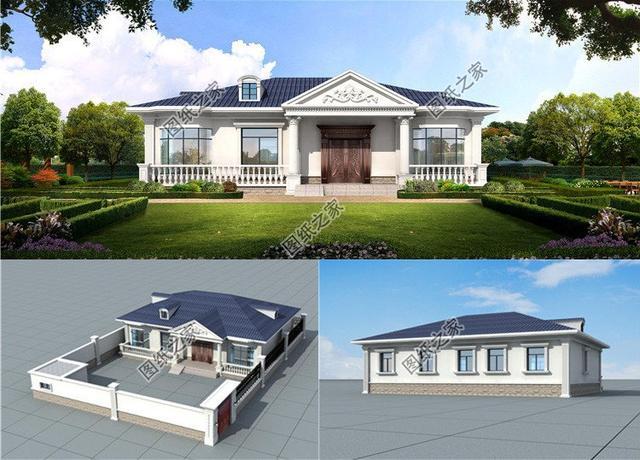 农村自建楼房图,多种风格设计,给你带来不一样的视觉感