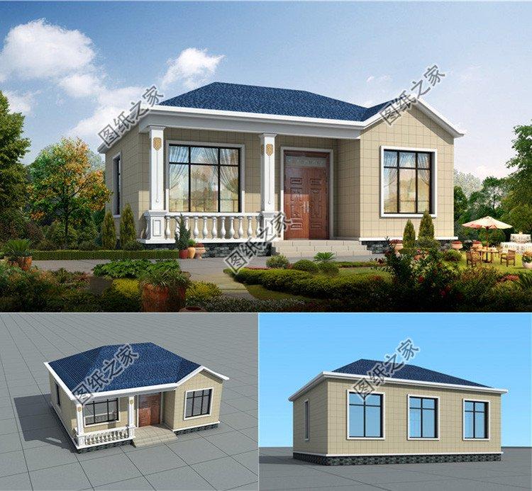 农村想建房子怎样设计好看?户型佳接地气,回村盖房合适