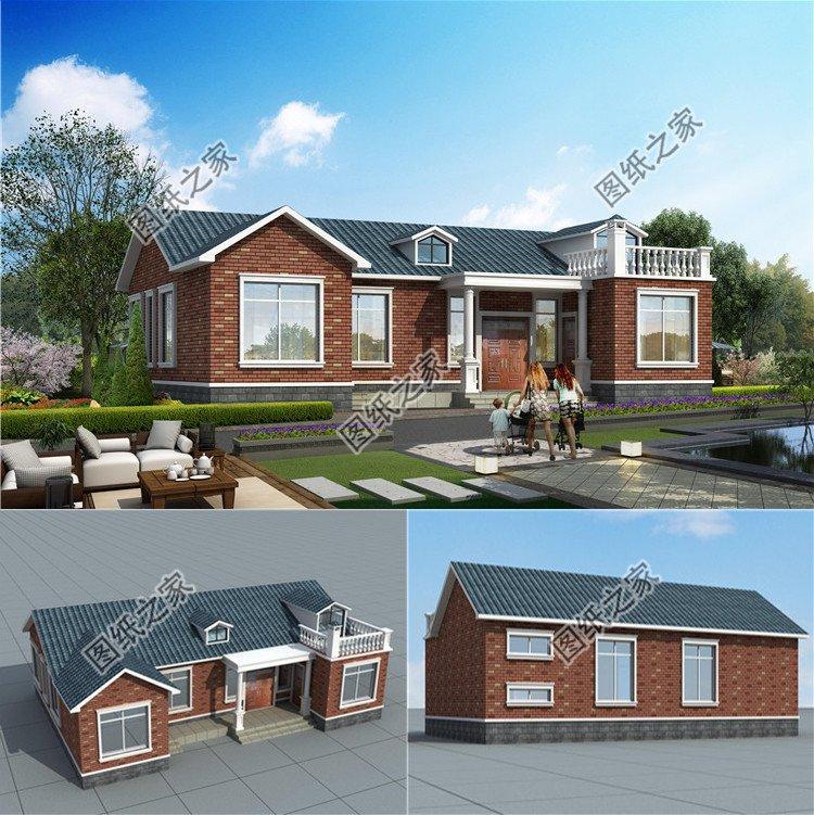 农村盖房设计大全图,推荐这6款,耳目一新的独特设计