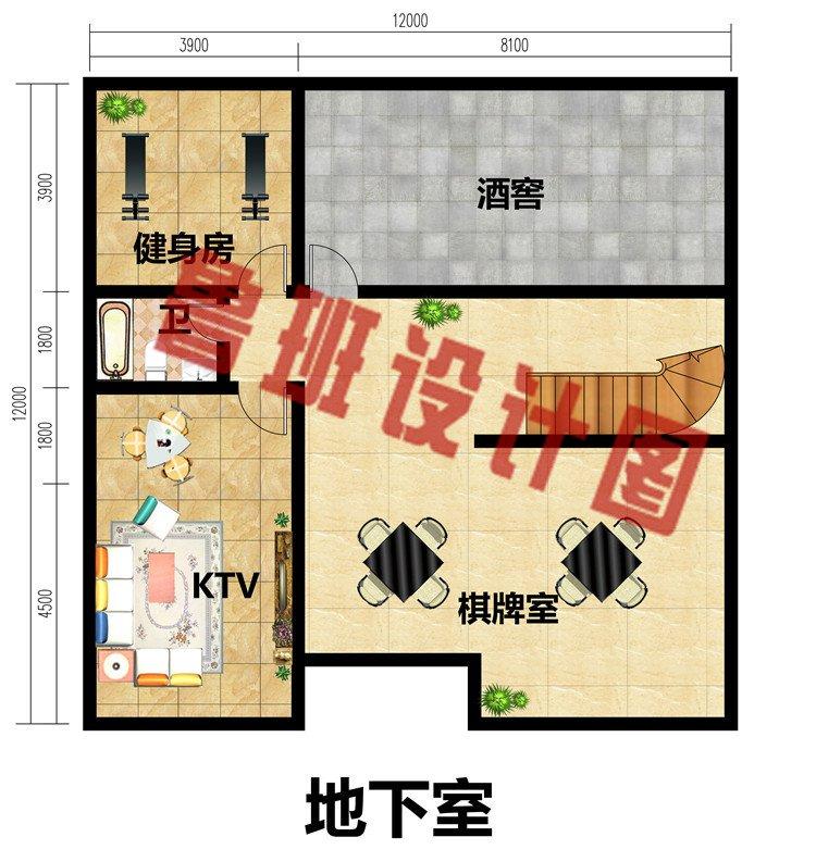 三层欧式自建房子设计图